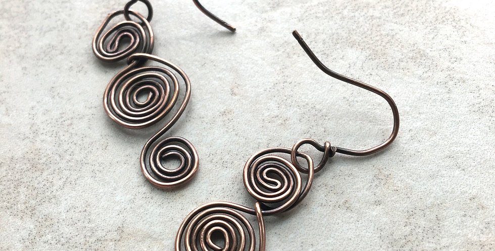 Copper Spiral Trio