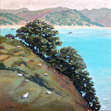 Waiheke Island Coast, NZ - In private collection