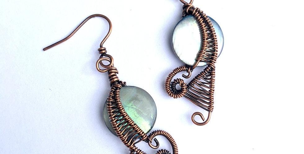 Shell & Woven Copper Fancies