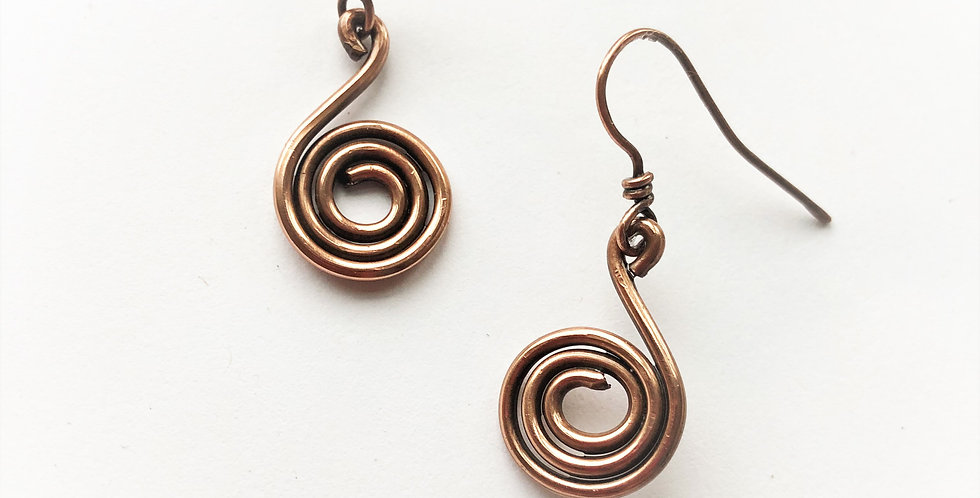 Thick Wire Spirals