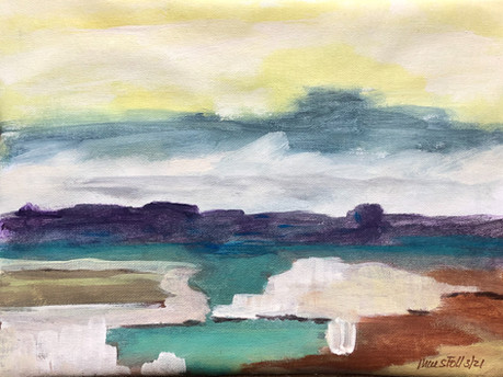 Marshes Under Uneasy Skies 3