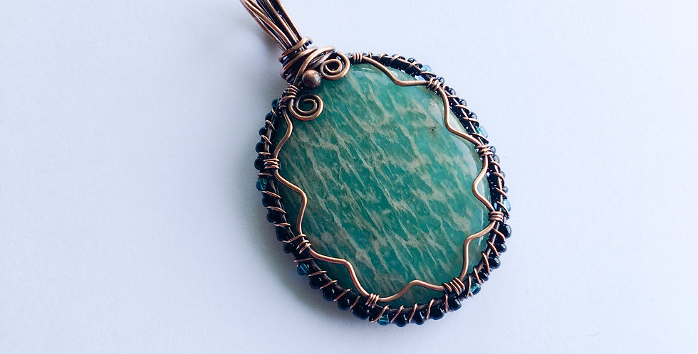 Green Amazonite Oval