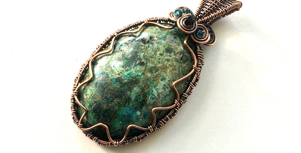 Chrysocolla Oval