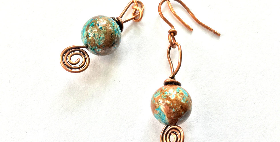 Turquoise Beads & Copper