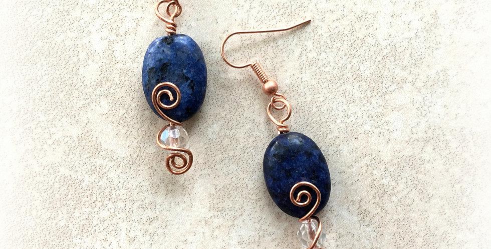 Sodalite Bead & Copper