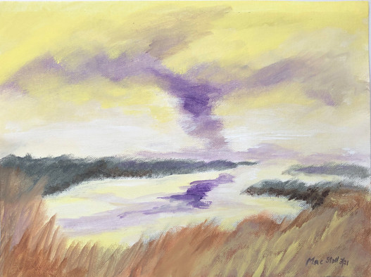 Marshes Under Uneasy Skies 2