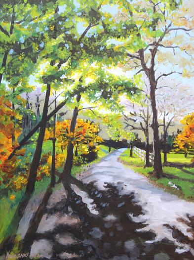 Bright Fall Morning - Sold