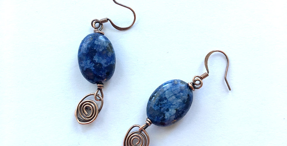 Sodalite  & Copper