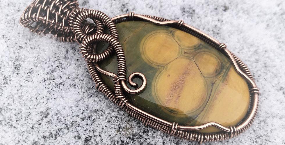 Orbicular Jasper Oval