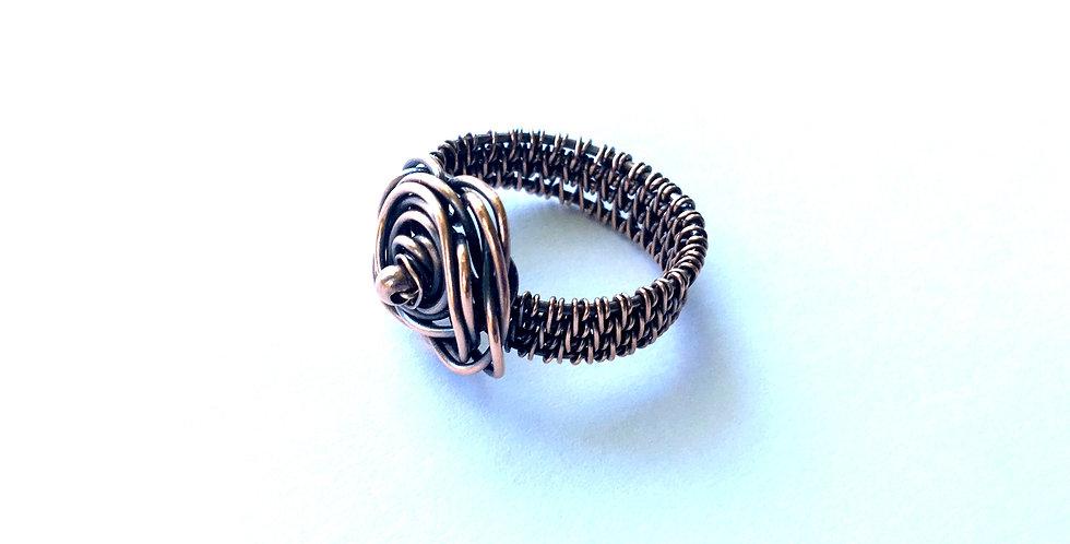 Rosette Ring Sz 7