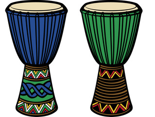 "The ""Passport"" Djembe Accompaniment"