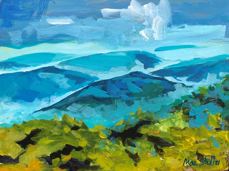 Mountain Blues - Sold