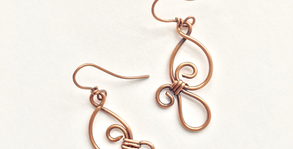 Thick Copper wire fancies