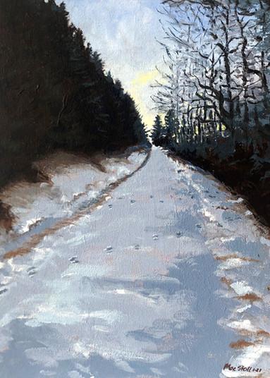 Steep and Snowy