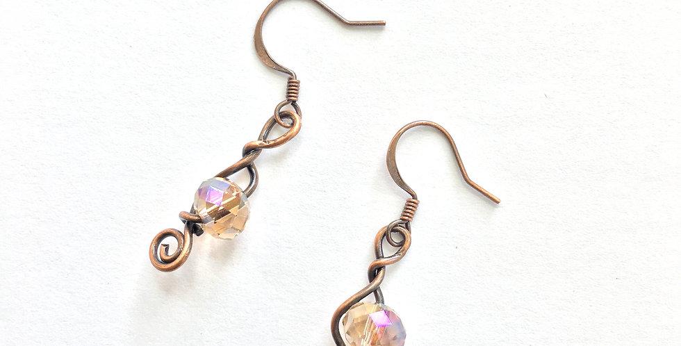 Threaded Glass Bead