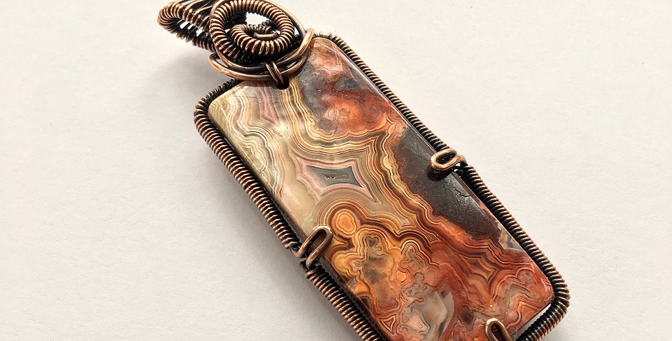 Mexico Crazy Lace Agate Oblong