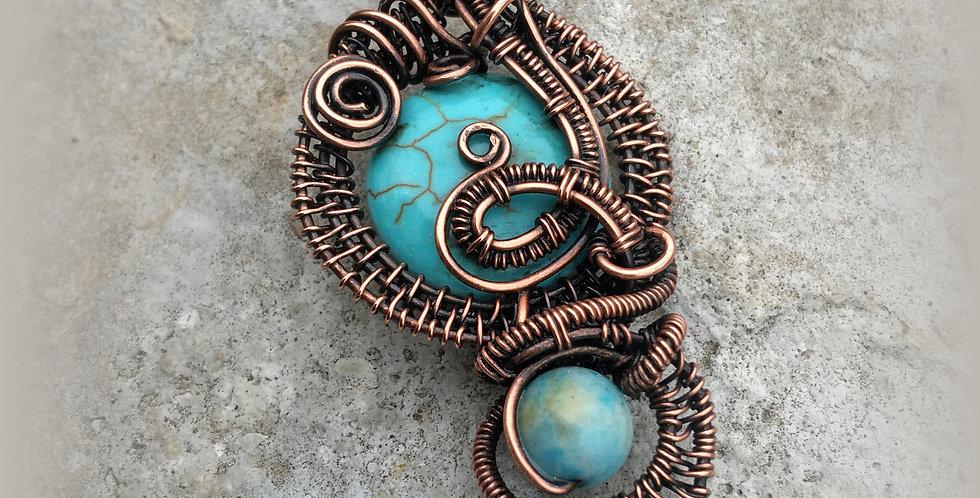 Magnesite, Jasper & Copper Fancy