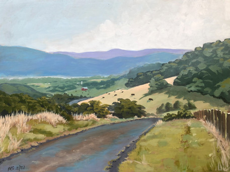 Somewhere in This Valley - Sold
