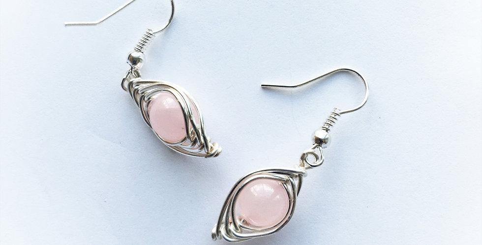 Pink Quartz Beads