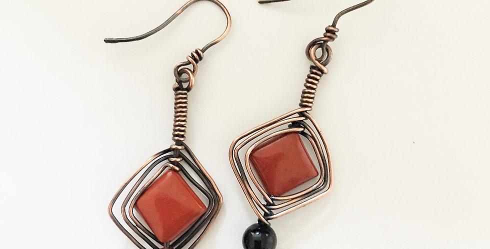 Red Jasper Diamond shapes