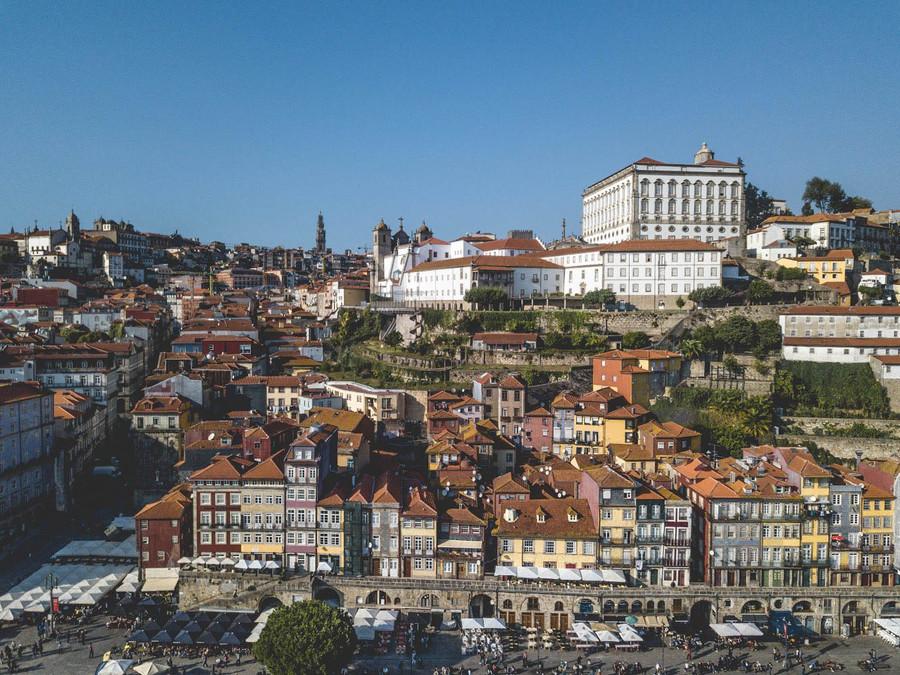 Portos shore line