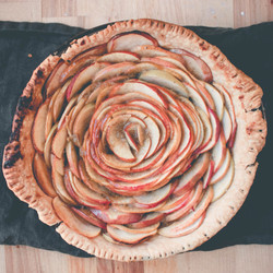 Infused apple pie