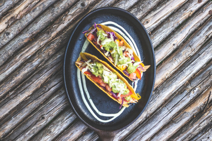 Infused Guack on tacos