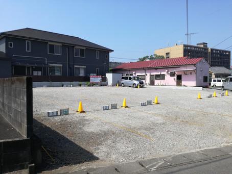♢駐車場 整備工事