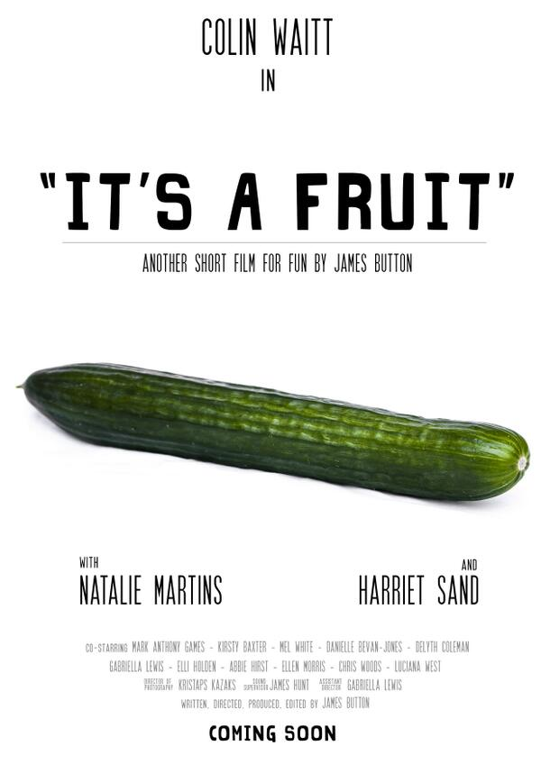 It's A Fruit Poster