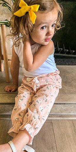 Geneies girls muslin printed pants