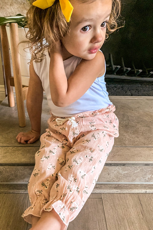 Geneies girls muslin printed pants