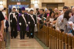 10/07/2015 - KoC lead the Procession