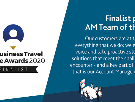 Business Travel People Awards 2020 Finalists for Account Management Team of the Year