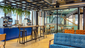 New venues – from flexible co-working spaces to leading hotel brands
