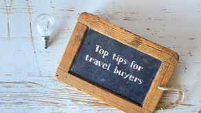 Top tips for travel buyers, over the coming weeks and months