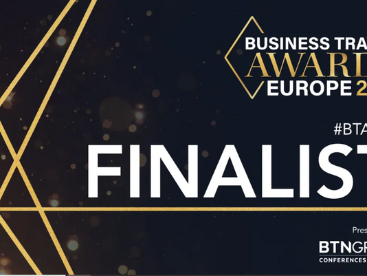 Finalists for 5 Awards at The Business Travel Awards Europe