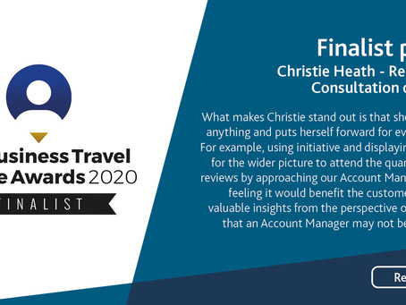 Business Travel People Awards 2020: Christie Heath – Reservations Consultant of the Year