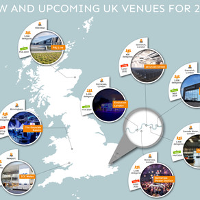 New and upcoming UK venues for 2020