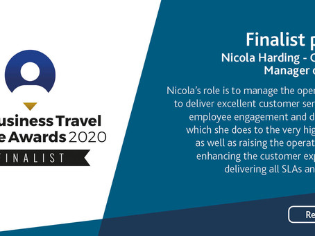 Meet Nicola Harding, Business Travel People Awards Finalist for Operations Manager of the Year