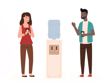 Water coolers and corridors: the personality and soul of impromptu engagement