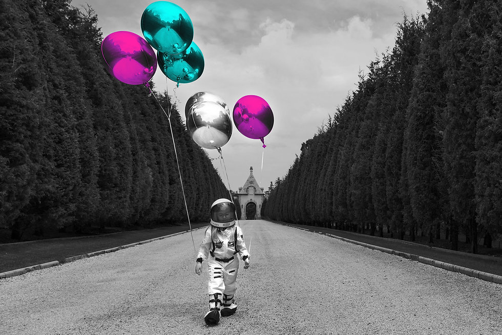 event page kid space suit