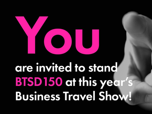 Sit back and enjoy the [Business Travel] Show.