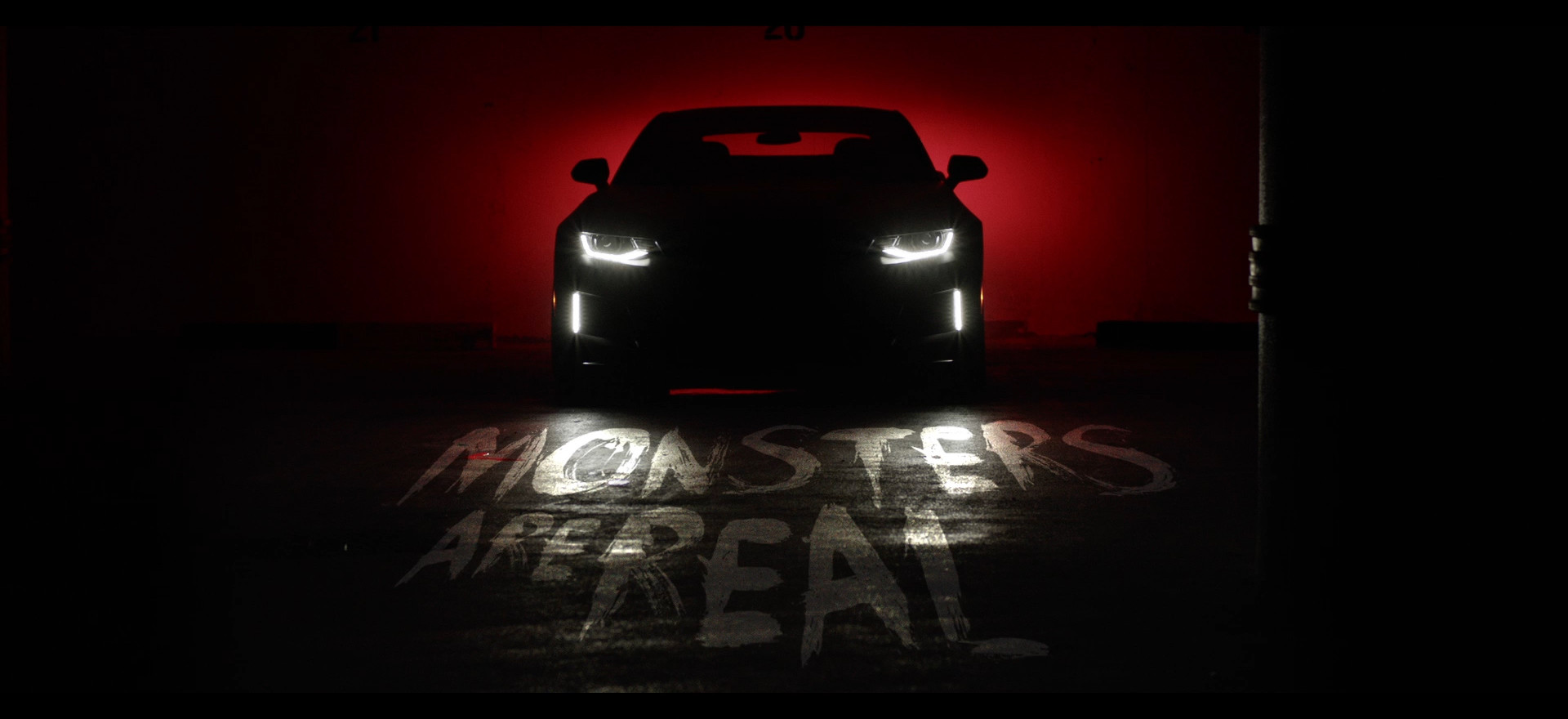 Chevrolet Camaro - Monsters are Real