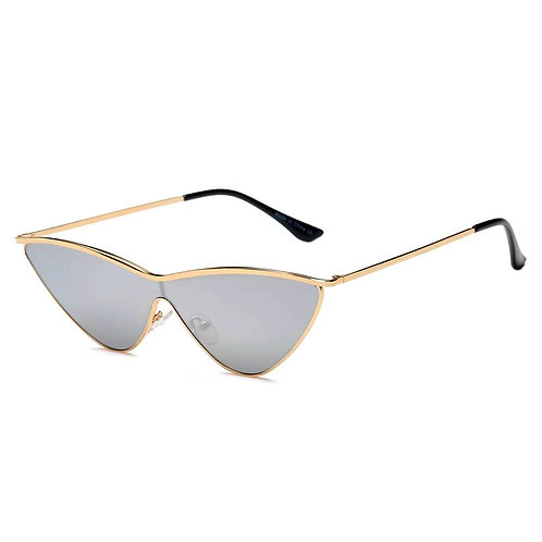 FONTANA | S2067 - Women Metal Cat Eye Sunglasses