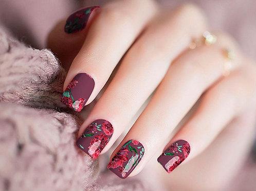 Roses Nail Wraps