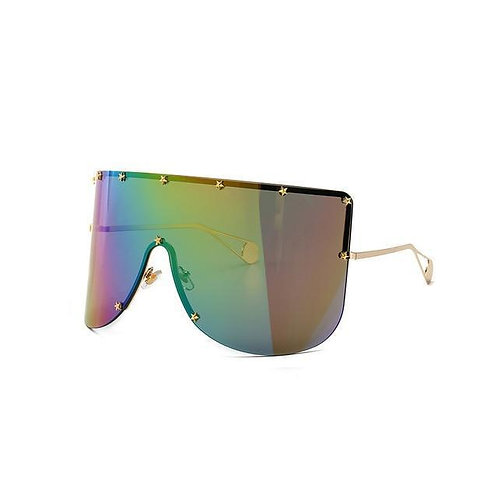Elaiza Oversized Sunglasses - Rainbow