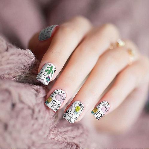 Princess Doodles Nail Wraps