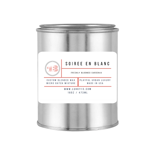 Soiree en Blanc Scented Candle