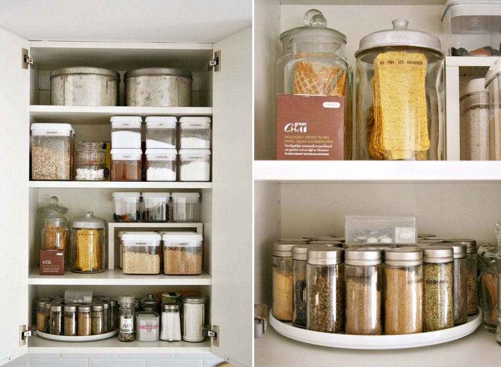 Kitchen:  Cabinet Organization