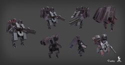 Humanoid drone T06 Unity